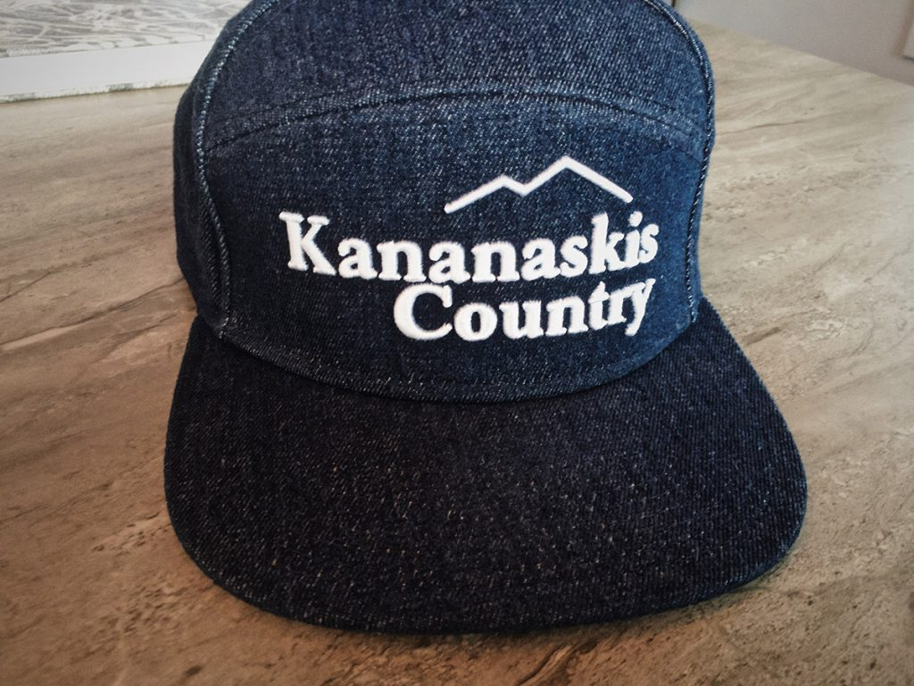 Vintage Kananaskis Country hat